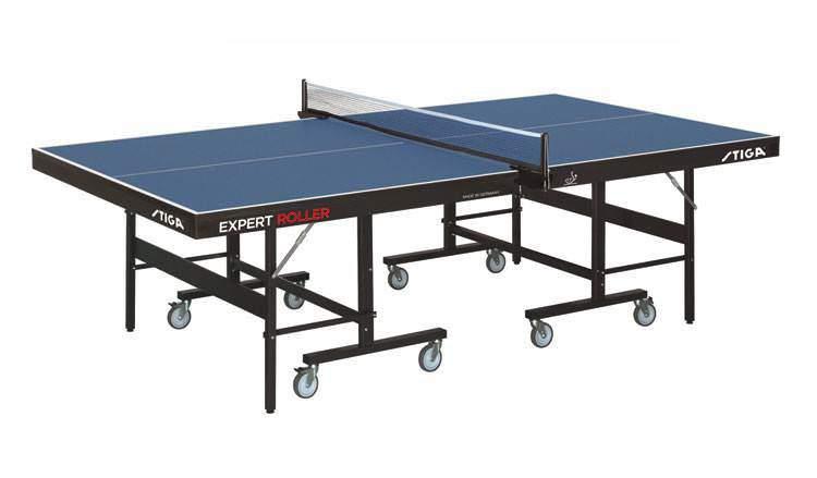 Теннисный стол профессиональный Stiga Expert Roller CSS купить в Москве - интернет-магазин Настольный теннис